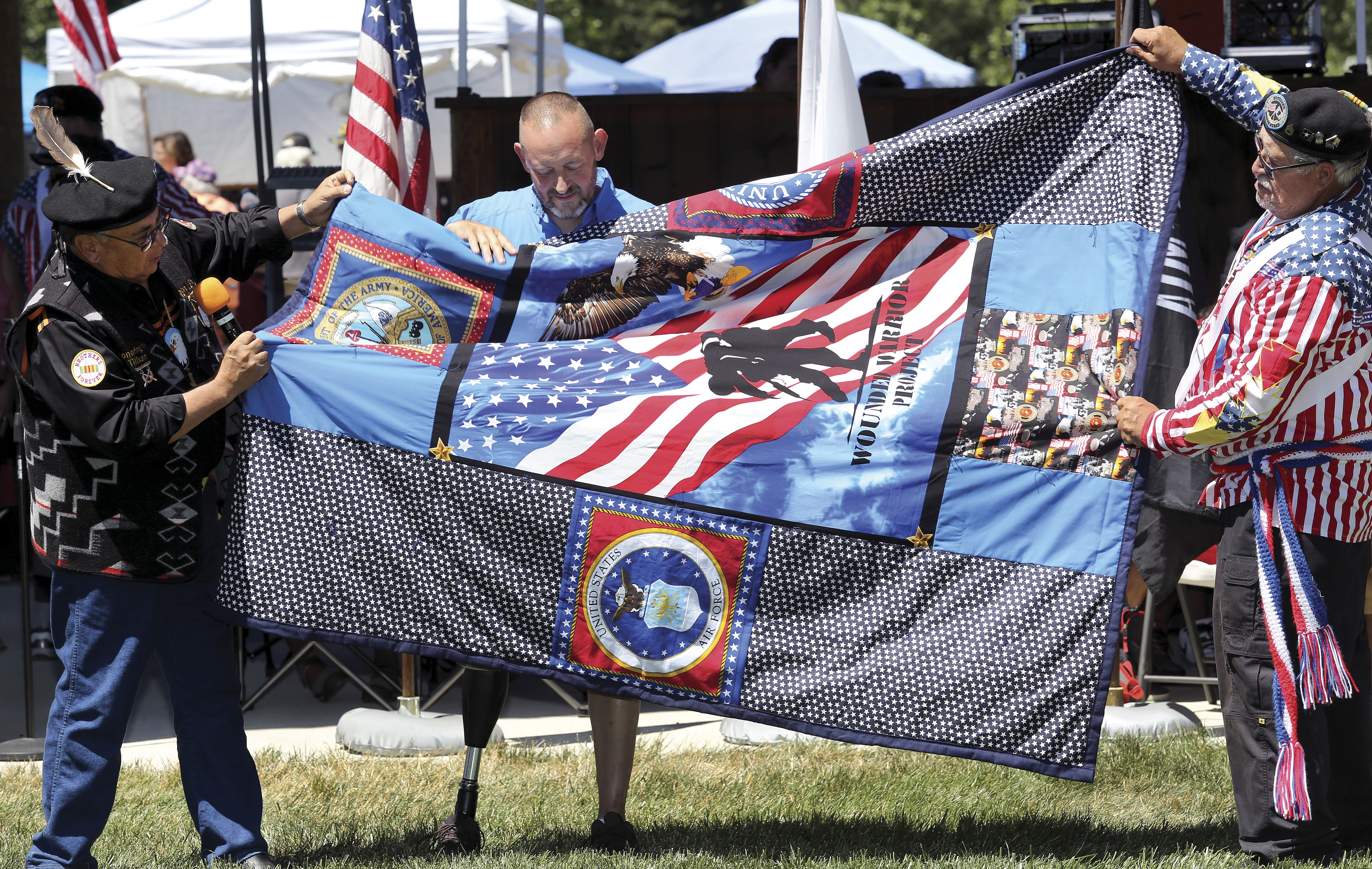 Veterans' events slated for July 11-14 at Uyxat Powwow